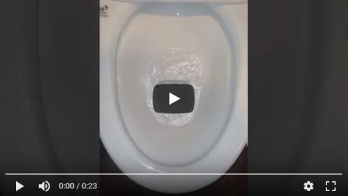 奈良市のトイレ排水つまりを解消しました。