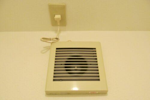 奈良県のトイレや脱衣所の換気扇の必要性と交換方法