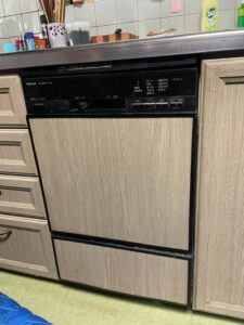 奈良県家のリフォーム工務店住まいるサービス食洗器交換