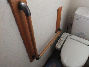 手すりトイレ奈良県家のリフォーム工務店住まいるサービス